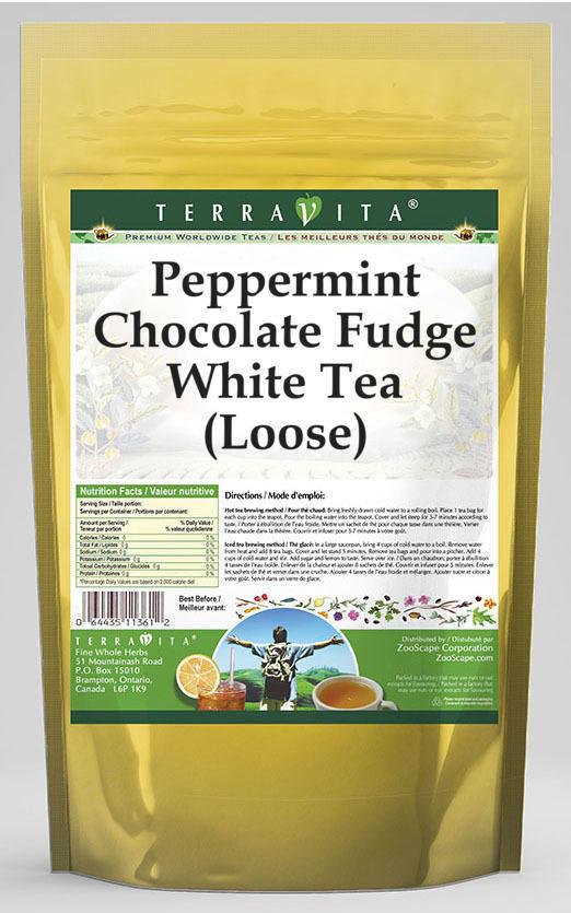 Peppermint Chocolate Fudge White Tea (Loose)
