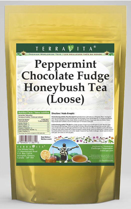 Peppermint Chocolate Fudge Honeybush Tea (Loose)