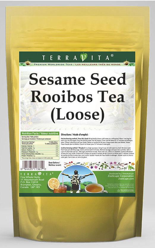 Sesame Seed Rooibos Tea (Loose)