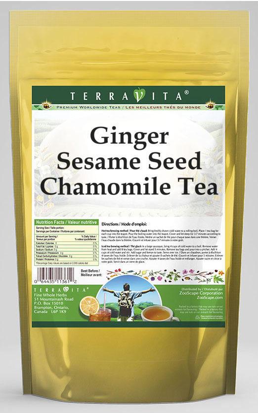 Ginger Sesame Seed Chamomile Tea