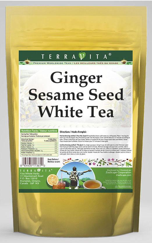 Ginger Sesame Seed White Tea