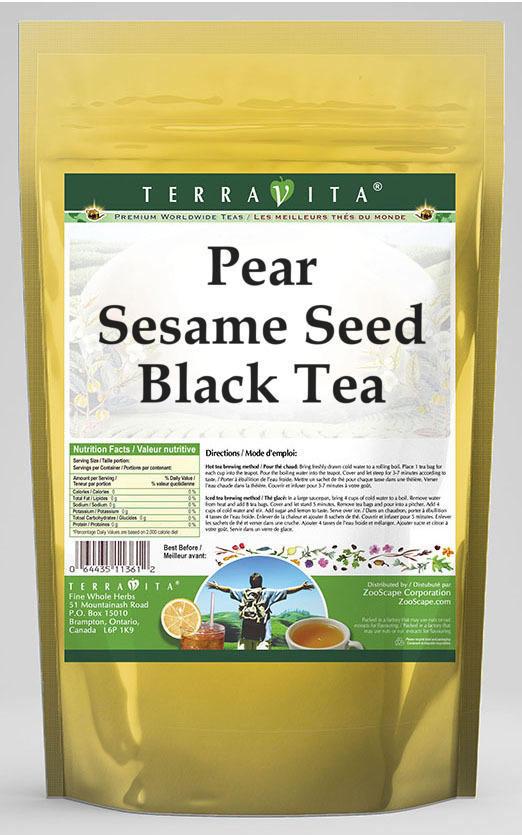 Pear Sesame Seed Black Tea