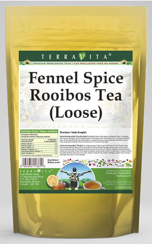 Fennel Spice Rooibos Tea (Loose)