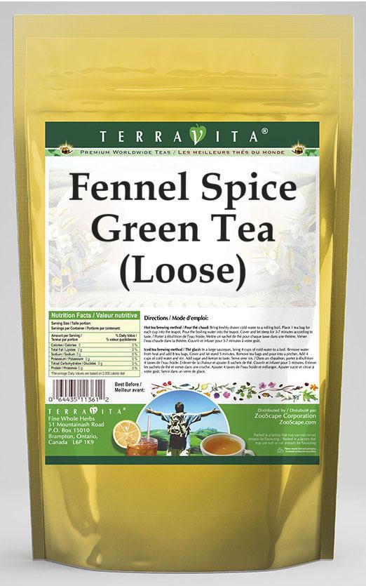 Fennel Spice Green Tea (Loose)
