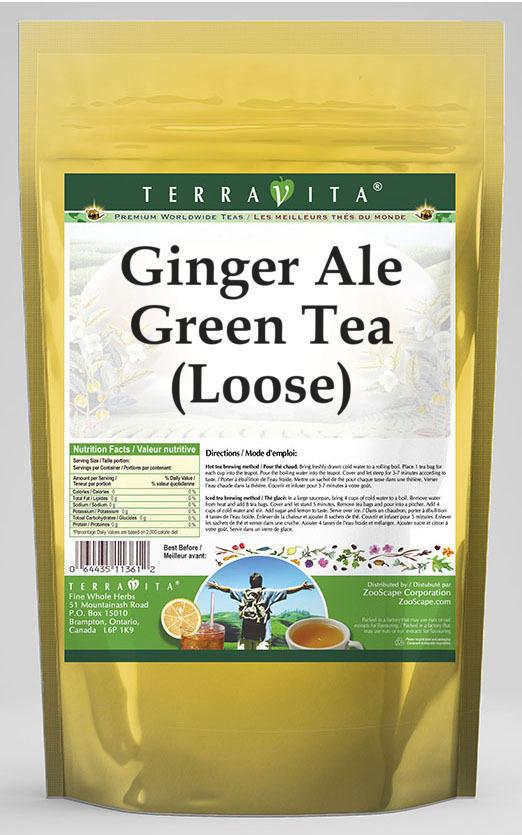 Ginger Ale Green Tea (Loose)
