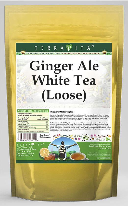 Ginger Ale White Tea (Loose)