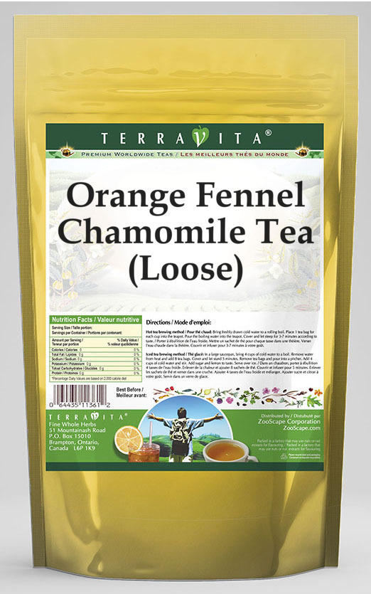 Orange Fennel Chamomile Tea (Loose)