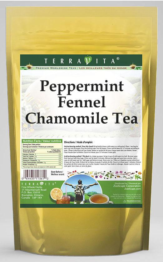 Peppermint Fennel Chamomile Tea