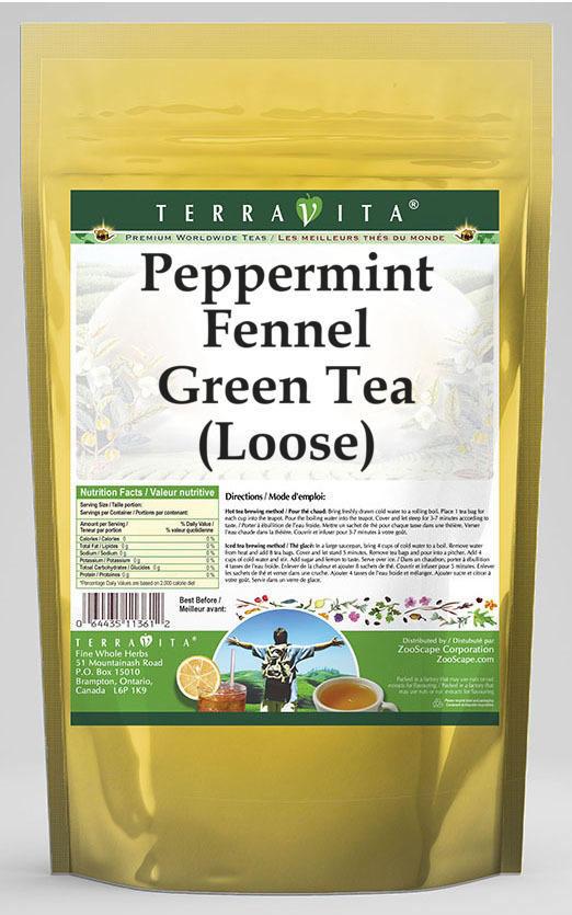 Peppermint Fennel Green Tea (Loose)