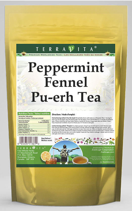 Peppermint Fennel Pu-erh Tea