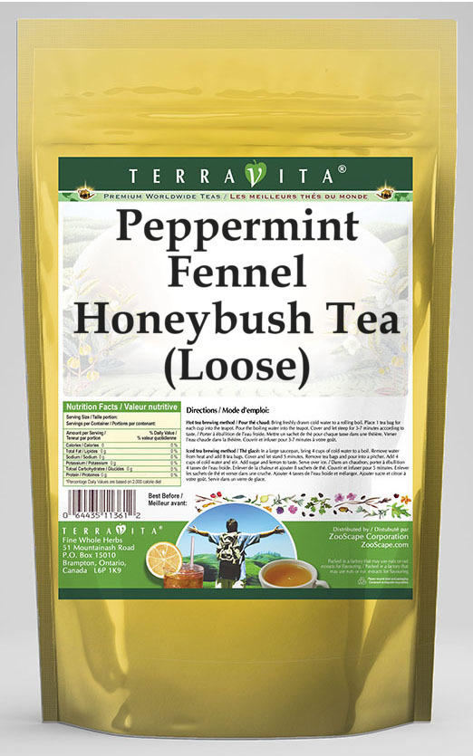 Peppermint Fennel Honeybush Tea (Loose)