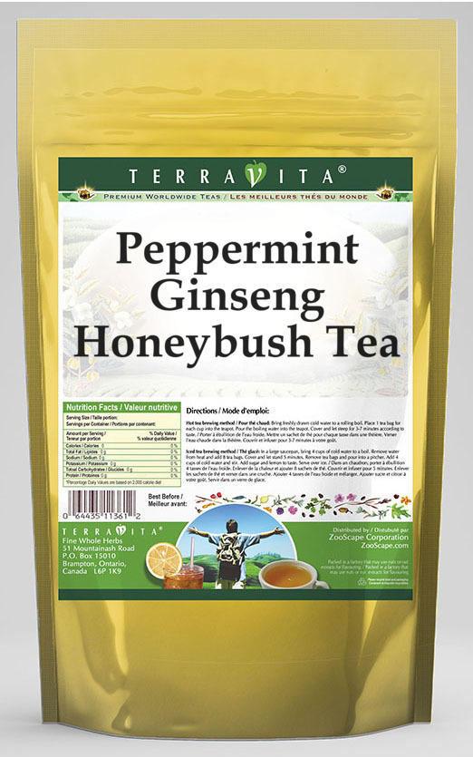 Peppermint Ginseng Honeybush Tea