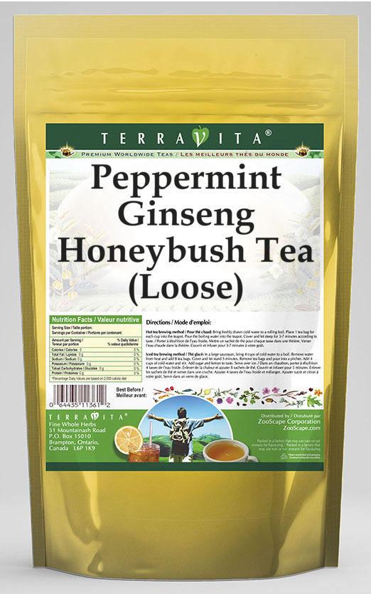 Peppermint Ginseng Honeybush Tea (Loose)