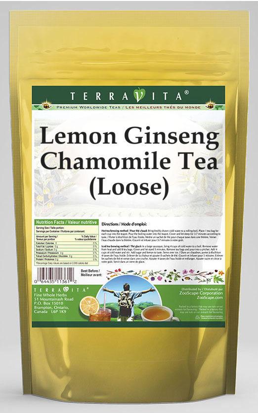 Lemon Ginseng Chamomile Tea (Loose)