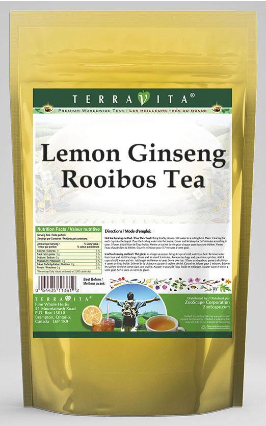 Lemon Ginseng Rooibos Tea