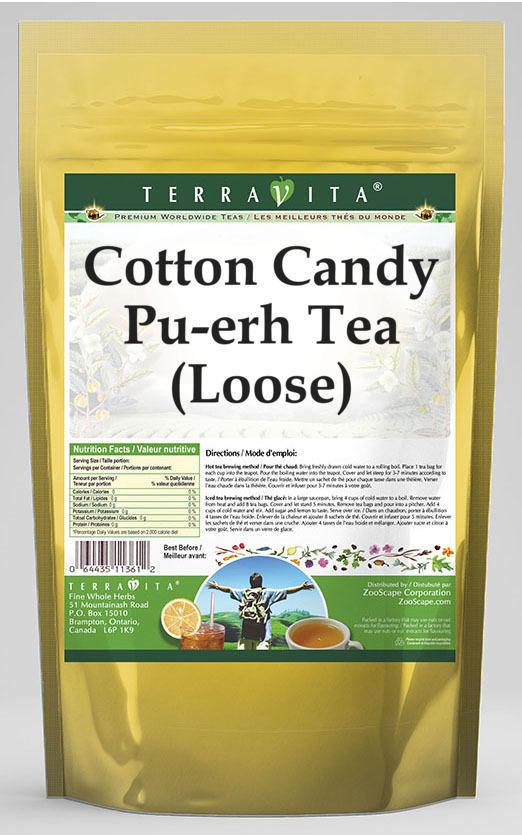 Cotton Candy Pu-erh Tea (Loose)