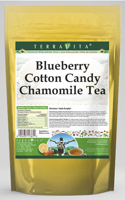 Blueberry Cotton Candy Chamomile Tea