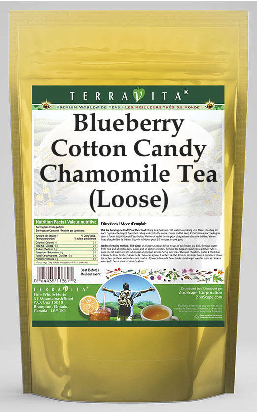 Blueberry Cotton Candy Chamomile Tea (Loose)