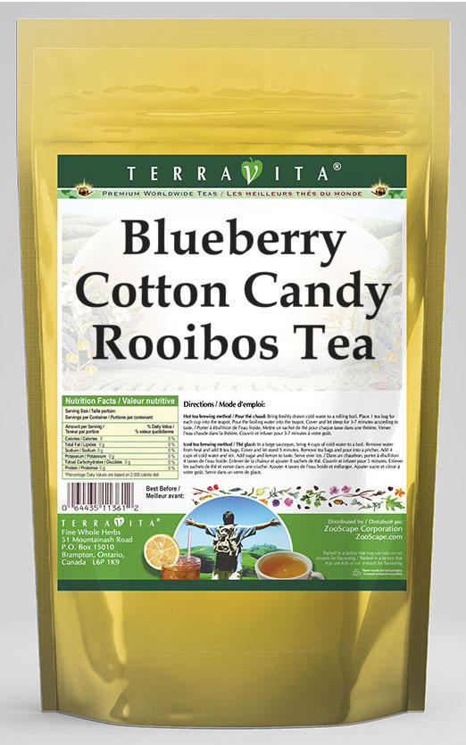 Blueberry Cotton Candy Rooibos Tea