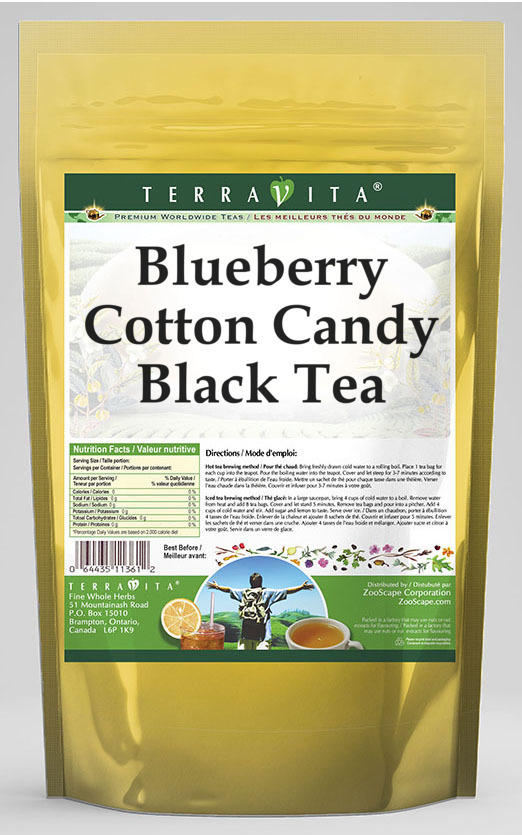 Blueberry Cotton Candy Black Tea