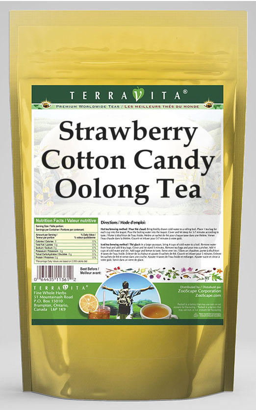 Strawberry Cotton Candy Oolong Tea