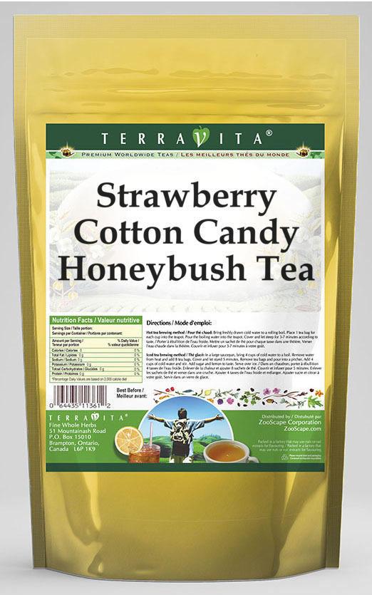 Strawberry Cotton Candy Honeybush Tea