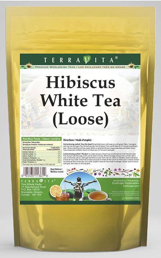 Hibiscus White Tea (Loose)