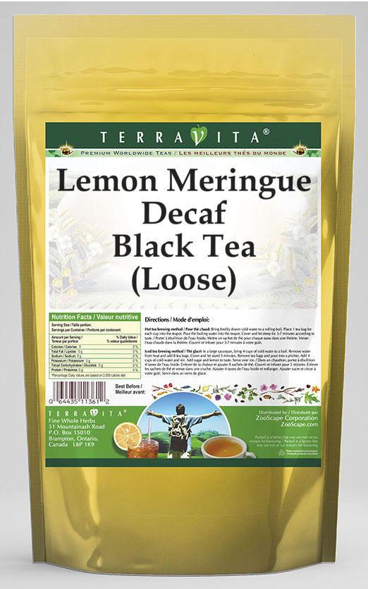 Lemon Meringue Decaf Black Tea (Loose)