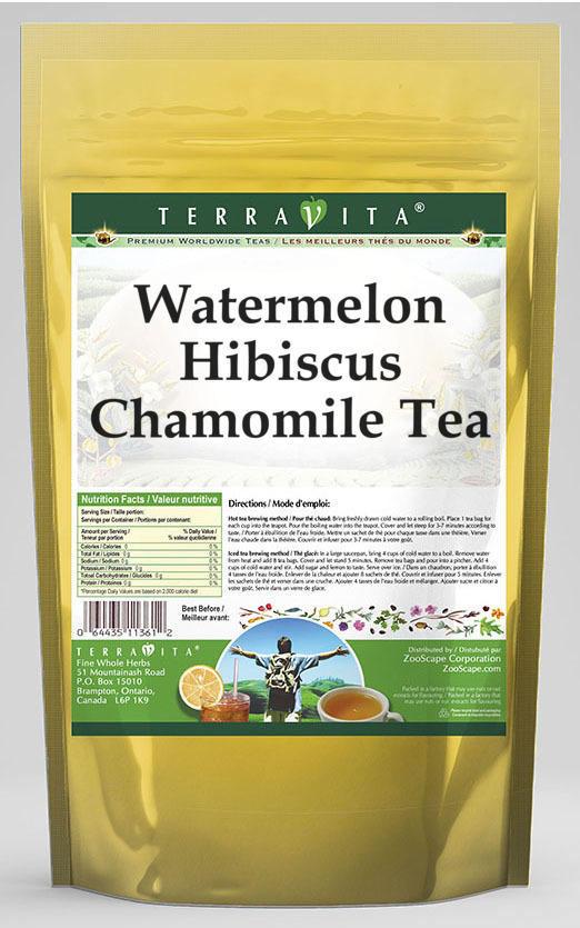 Watermelon Hibiscus Chamomile Tea