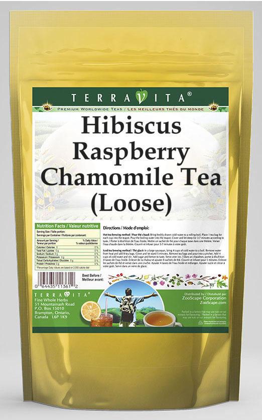 Hibiscus Raspberry Chamomile Tea (Loose)