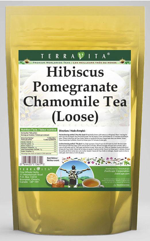 Hibiscus Pomegranate Chamomile Tea (Loose)