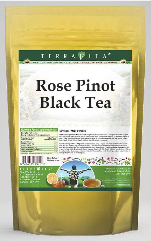 Rose Pinot Black Tea