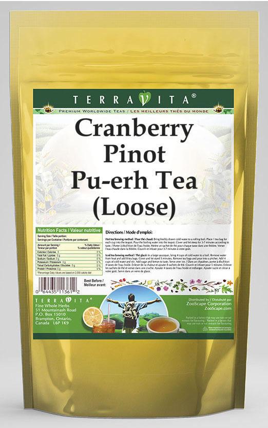 Cranberry Pinot Pu-erh Tea (Loose)