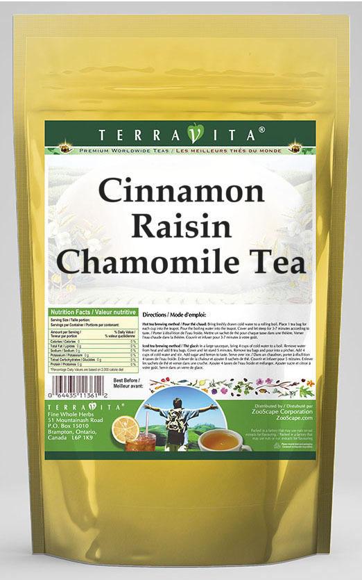 Cinnamon Raisin Chamomile Tea