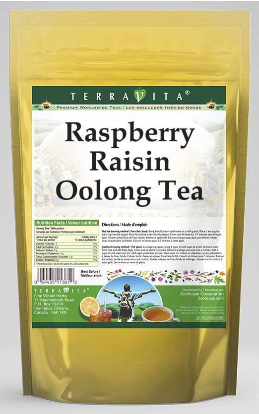 Raspberry Raisin Oolong Tea
