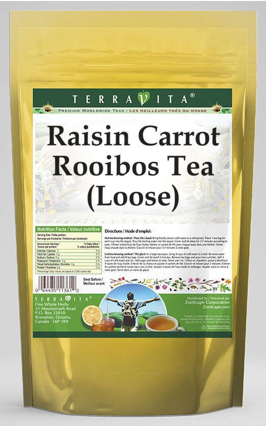 Raisin Carrot Rooibos Tea (Loose)