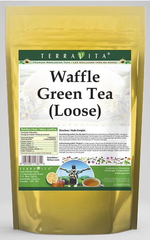 Waffle Green Tea (Loose)