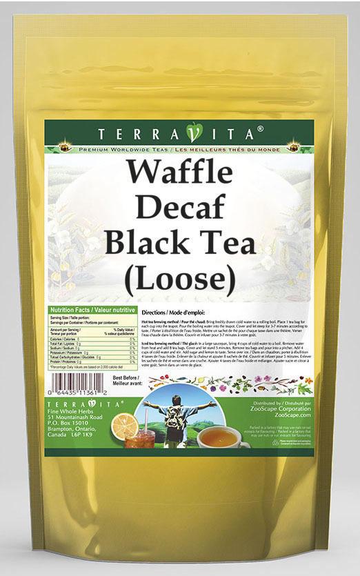 Waffle Decaf Black Tea (Loose)