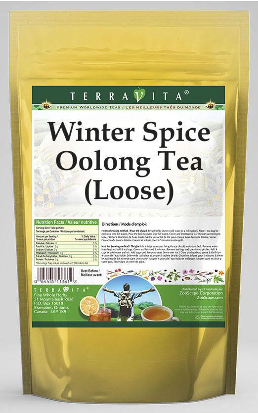 Winter Spice Oolong Tea (Loose)