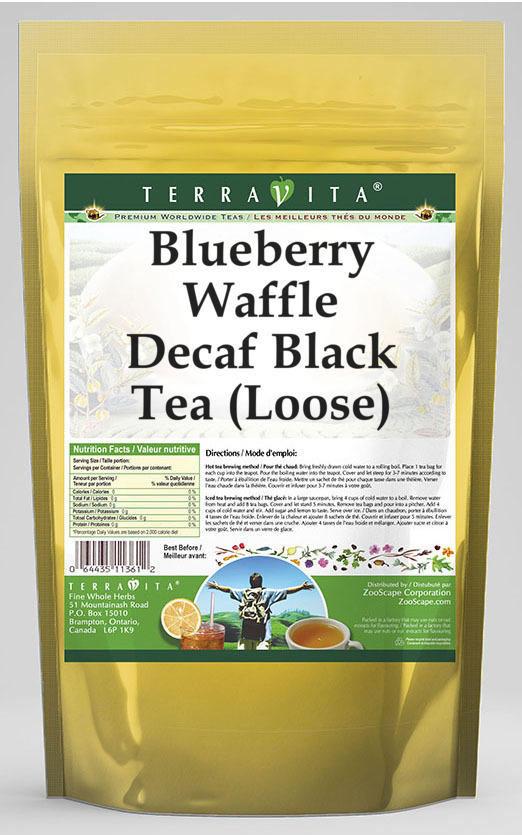 Blueberry Waffle Decaf Black Tea (Loose)