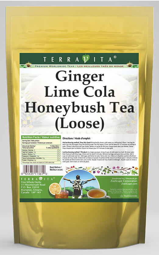 Ginger Lime Cola Honeybush Tea (Loose)