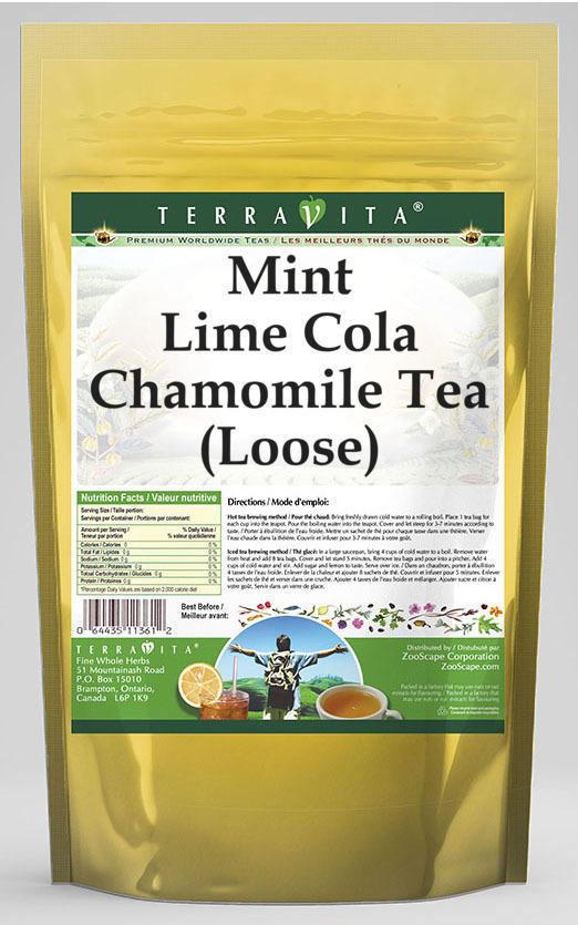 Mint Lime Cola Chamomile Tea (Loose)