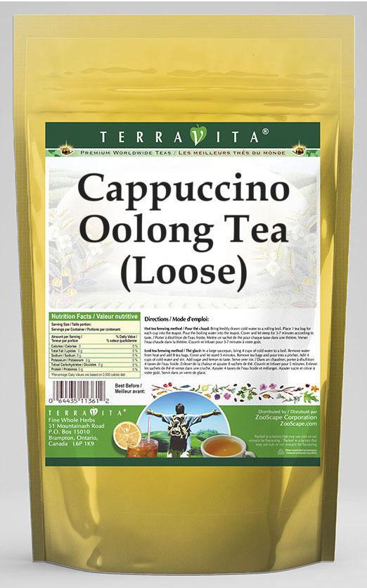 Cappuccino Oolong Tea (Loose)