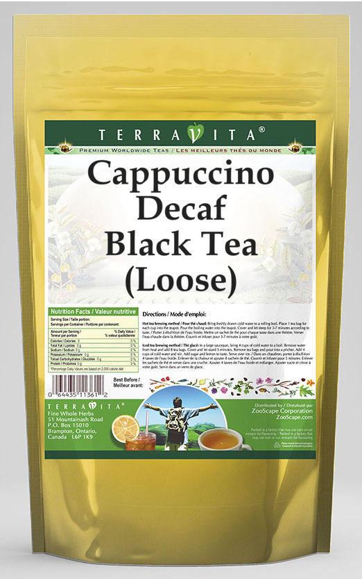 Cappuccino Decaf Black Tea (Loose)