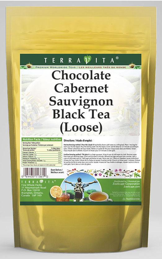 Chocolate Cabernet Sauvignon Black Tea (Loose)