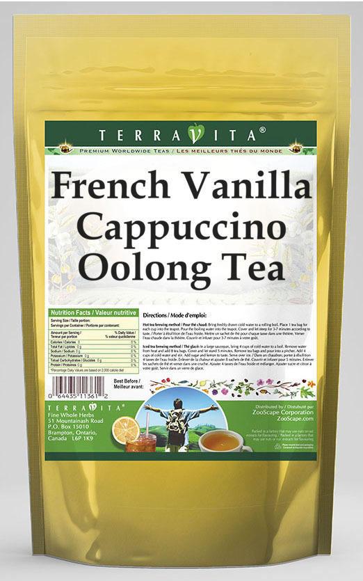 French Vanilla Cappuccino Oolong Tea