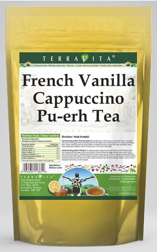 French Vanilla Cappuccino Pu-erh Tea