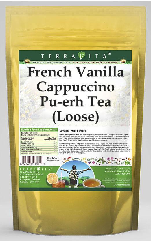 French Vanilla Cappuccino Pu-erh Tea (Loose)