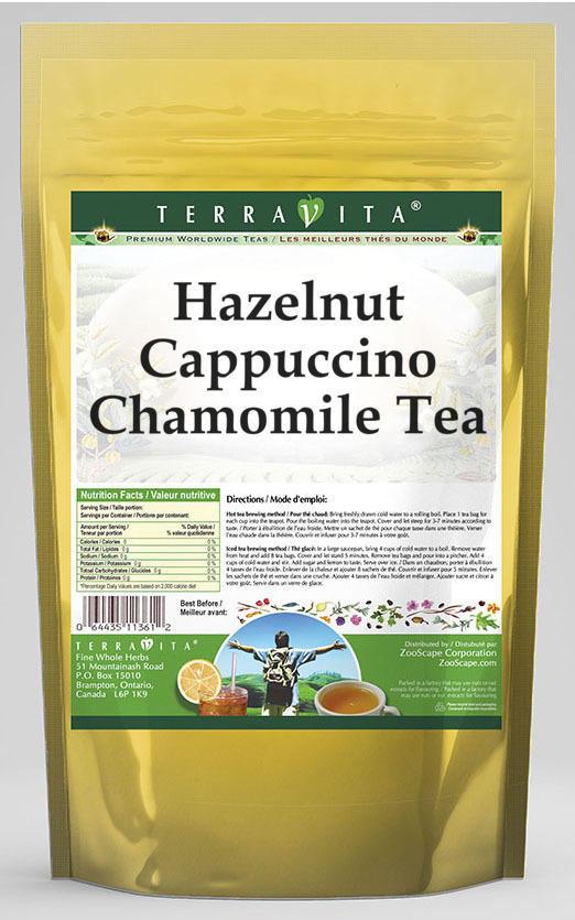 Hazelnut Cappuccino Chamomile Tea