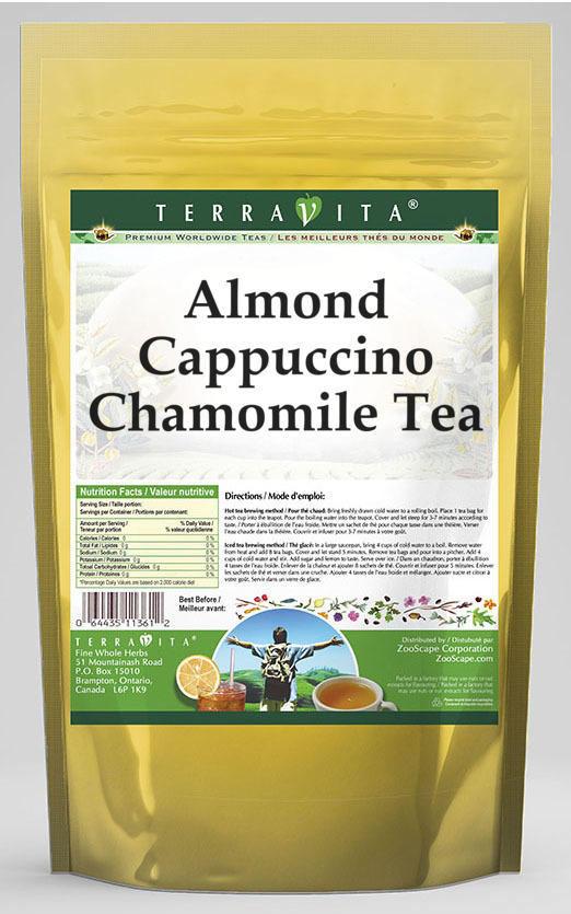 Almond Cappuccino Chamomile Tea